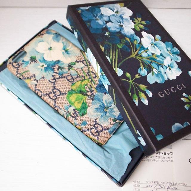 プラダ iphone8 ケース メンズ | Gucci - 正規品♡最安値♡グッチ iPhoneケース 携帯カバー GGスプリーム 花柄の通販 by faen|グッチならラクマ