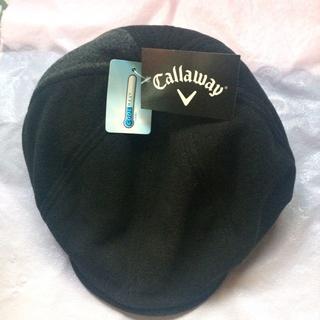 キャロウェイゴルフ(Callaway Golf)のキャロウェイ ハンチング 黒(一部グレー)(ハンチング/ベレー帽)