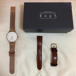 ノットノット(Knot/not)の[11月末まで値下げ中‼️]【knot】レディース腕時計(腕時計)