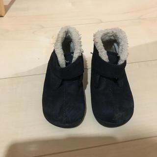 ムジルシリョウヒン(MUJI (無印良品))の無印良品 ブーツ 14センチ(フラットシューズ)