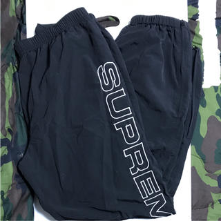 supreme track pants L black