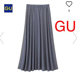 ジーユー(GU)のジーユー マキシスカート ユニクロ グローブ イング ナイスクラップ好きに(ロングスカート)