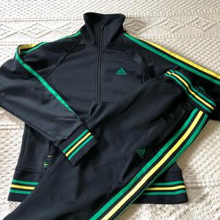 アディダス(adidas)のadidas  ジャージ ジャマイカカラー  Jamaica セットアップ (ルームウェア)