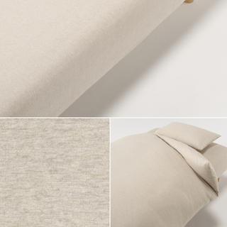 ムジルシリョウヒン(MUJI (無印良品))の無印オーガニックコットン ボックスシーツ 2セット(シーツ/カバー)