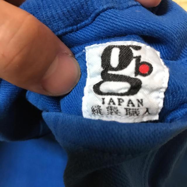 GB(ジービー)の岡山デニム デニム風スウェット 新品 キッズ/ベビー/マタニティのキッズ服 男の子用(90cm~)(パンツ/スパッツ)の商品写真