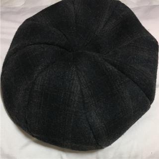 イーハイフンワールドギャラリー(E hyphen world gallery)のイーハイフン チェック ベレー帽(ハンチング/ベレー帽)
