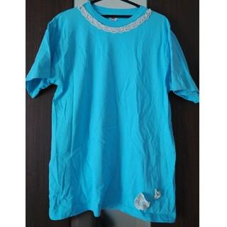 水色のビッグティーシャツ(Tシャツ(半袖/袖なし))