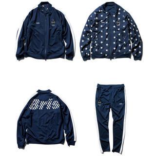 エフシーアールビー(F.C.R.B.)の新品 fcrb pdk jacket & pant セットアップ M パンツ(ジャージ)