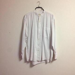 ヤエカ(YAECA)のvintage stand collar shirt(シャツ)