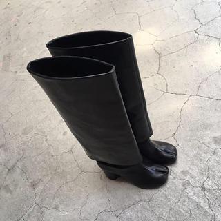 マルタンマルジェラ(Maison Martin Margiela)の新品未使用)Maison Margiela ロングブーツ 足袋ブーツ(ブーツ)
