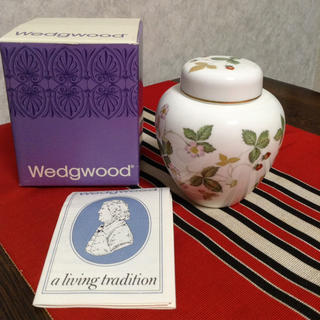 ウッドウッド(WOOD WOOD)のウェッジウッド・ワイルド・ストロベリー/ジンジャージャー(食器)
