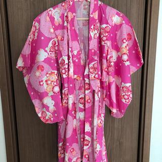 ユニクロ(UNIQLO)のUNIQLO 子供用 浴衣 ピンク 兎(甚平/浴衣)