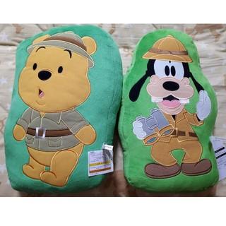 ディズニー(Disney)のディズニークッション(プーさん、グーフィー)(クッション)
