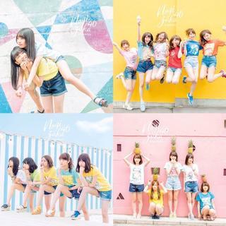 乃木坂46 18th 逃げ水 初回限定盤 CD+DVD ABCD 4種 未再生(ポップス/ロック(邦楽))