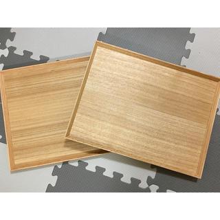 ムジルシリョウヒン(MUJI (無印良品))の無印 木製トレー(収納/キッチン雑貨)