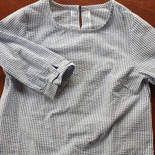 ムジルシリョウヒン(MUJI (無印良品))のストライプのブラウス(シャツ/ブラウス(長袖/七分))