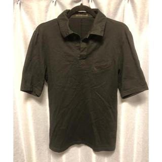 アトウ(ato)のATO ポロシャツ 黒 M(ポロシャツ)