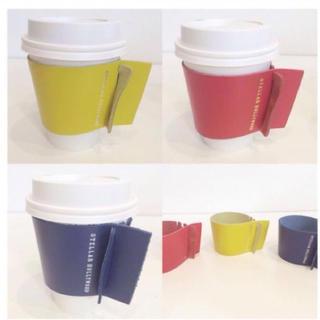 値下 新品 STELLAR HOLLYWOODレザーコーヒーホルダー