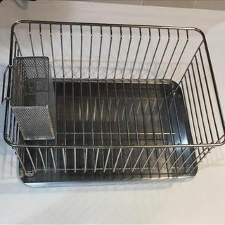 ムジルシリョウヒン(MUJI (無印良品))の無印良品 水切り 三点セット(収納/キッチン雑貨)