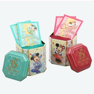 ディズニー(Disney)のディズニーリゾート 35周年 紅茶&ジャスミン茶缶(茶)