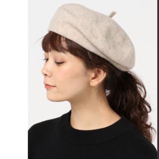 ディクショナリー(dictionary)のベレー帽 ベージュ(ハンチング/ベレー帽)