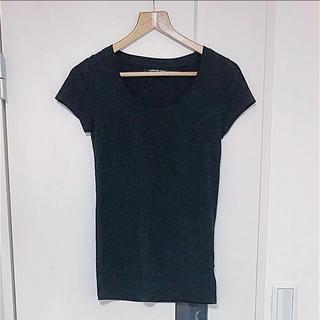 ブラック Tシャツ(Tシャツ(半袖/袖なし))