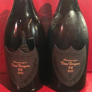 ドンペリニヨン(Dom Pérignon)のドンペリ p2  2本 値下げしました(シャンパン/スパークリングワイン)