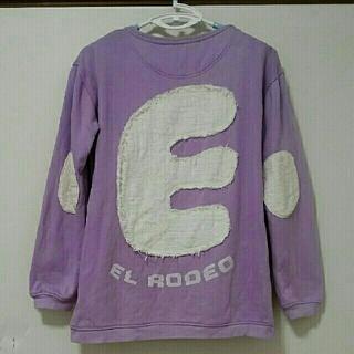 エルロデオ(EL RODEO)の☘美品レア☘【EL RODEO】定番パープルトレーナー(トレーナー/スウェット)