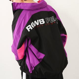 ロデオクラウンズワイドボウル(RODEO CROWNS WIDE BOWL)のロデオ カラースイッチジャケット PEAC (ナイロンジャケット)