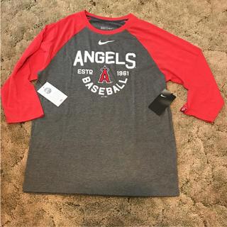 ナイキ(NIKE)の新品未使用 タグ付き スタジアム限定品 ANGELS&NIKE 長袖シャツ(Tシャツ(長袖/七分))