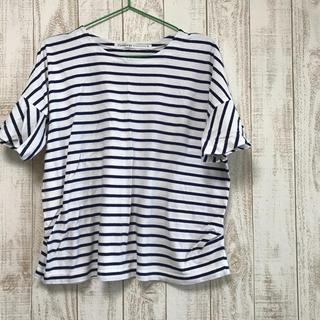 コルテラルゴ(CorteLargo)のCorte Largo ネイビーボーダーT(Tシャツ(半袖/袖なし))
