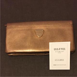 ゴールドファイル(GOLD PFEIL)の【美品】GOLD PFEIL ゴールドファイル 長財布(財布)