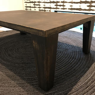 アクタス(ACTUS)のこたつ テーブル ヴィンテージ 長方形 日美 無印良品 アクタス(こたつ)