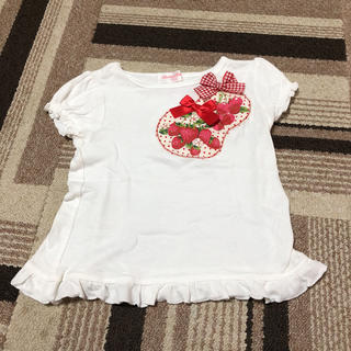 シャーリーテンプル(Shirley Temple)のシャーリーテンプル いちごトップス100(Tシャツ/カットソー)