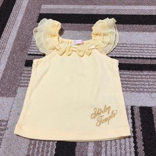 シャーリーテンプル(Shirley Temple)のシャーリーテンプル 美品 フリルトップス(Tシャツ)