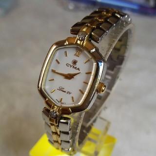 シーマ(CYMA)のシーマ腕時計  2Pダイヤレディースブレスクォーツ(腕時計)