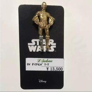 ディズニー(Disney)のSTARWARS スターウォーズ スーツ用バッチ C-3PO ダイヤモンド(その他)