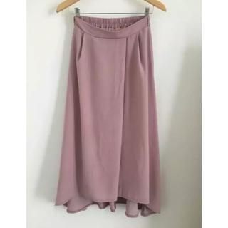 シマムラ(しまむら)のスカート ロングスカート シフォン  Mサイズ(ロングスカート)