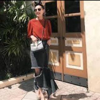 アメリヴィンテージ(Ameri VINTAGE)のameri  vintage zigzag skirt(ロングスカート)