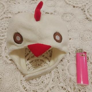 ディズニー(Disney)のわんこの帽子 にわとり鳥鶏酉 ハローウィンねこのかぶりものコスプレにゃんこにも♪(犬)