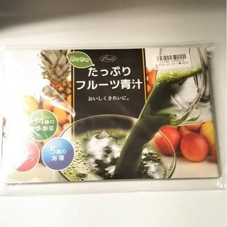 【新品・未開封】めっちゃたっぷり フルーツ青汁(青汁/ケール加工食品 )