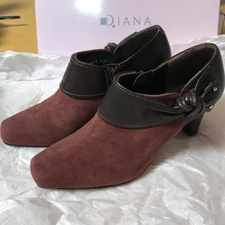 ダイアナ(DIANA)のダイアナ 21.5センチ ショートブーツ(ハイヒール/パンプス)