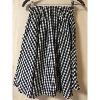 アントマリーズ(Aunt Marie's)のAunt Marie's ギンガムチェック スカート(ひざ丈スカート)