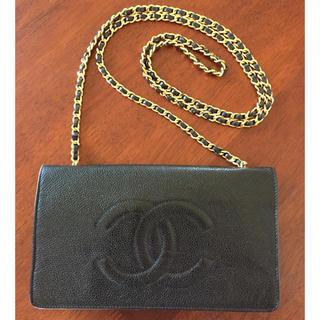 シャネル(CHANEL)のあんまん様専用🌸シャネルチェーン財布🌸(ウォレットチェーン)