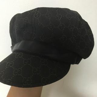 グッチ(Gucci)のGUCCI 帽子(ハンチング/ベレー帽)