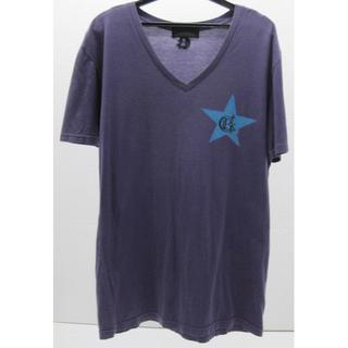 コールブラック(COALBLACK)の*0375・COAL BLACK コールブラック 半袖Tシャツ パープル(Tシャツ/カットソー(半袖/袖なし))