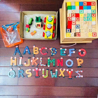 ボーネルンド(BorneLund)の⭐︎積み木⭐︎木のおもちゃ 色々まとめ売り(積み木/ブロック)