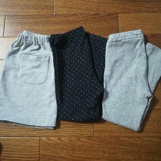 ムジルシリョウヒン(MUJI (無印良品))の無印良品 レギンス、スカートセット 100cm(パンツ/スパッツ)