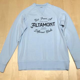 オルタモント(ALTAMONT)のトレーナー スウェット ALTAMONT オルタモント 新品 送料込み(スウェット)