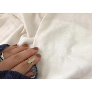 インポート  ファランジリング ゴールド ホワイト(リング(指輪))
